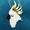 65N Pride Parrot Pendant Fashion Acrylic Pendant Neckalce Woman Party Charming Necklace