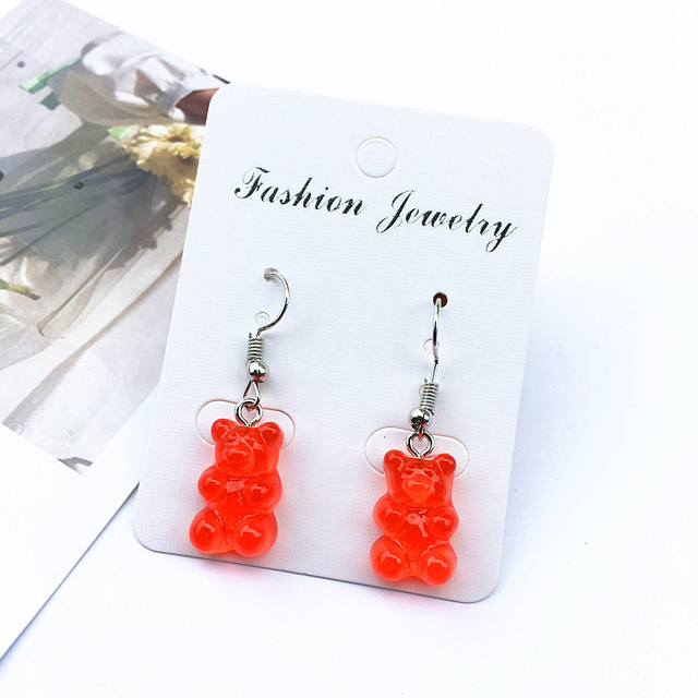 Bear Earrings 1