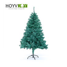 HOYVJOY 120-150cm green pvc Xmas Big Christmas Tree New Year Decorations With LED Light and Small decorations Wholesale Custom
