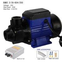 24V 250W Solar powered water Pump, solar booster pump, surface solar water pump SQB2.2/35 D24/250