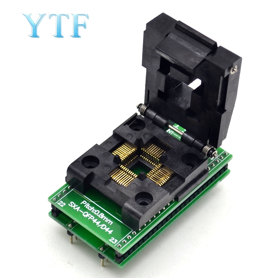 SA245A QFP-44 IC Burning Seat 10x10 0.8mm Pitch Adapter Conversion Seat Test Seat
