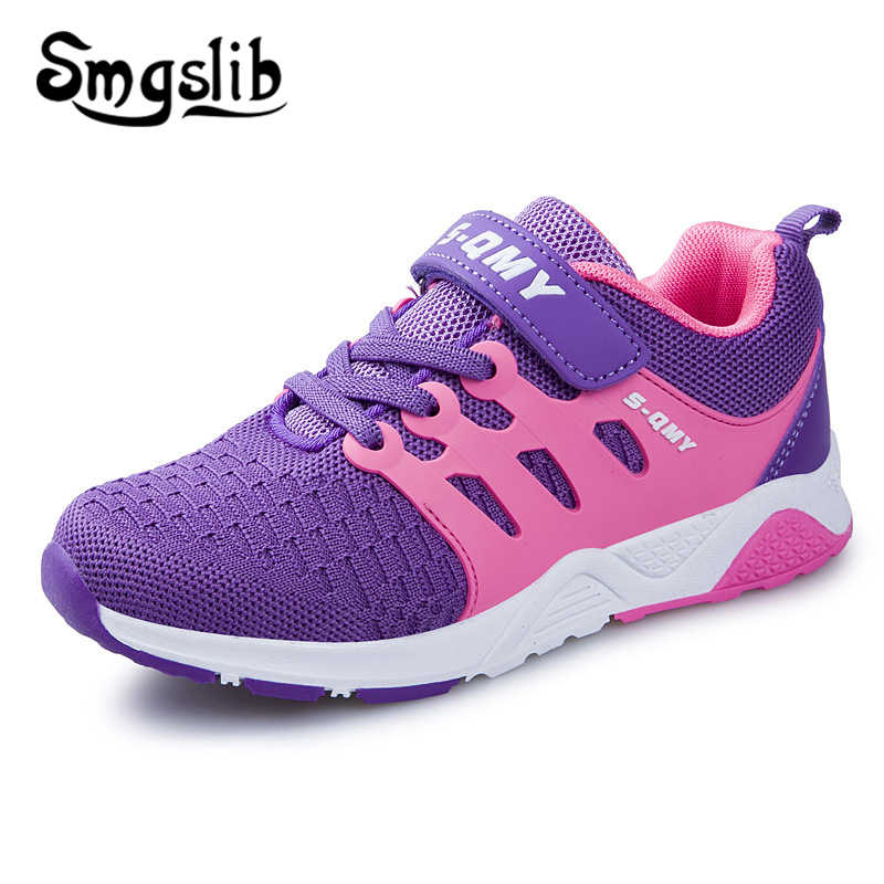 Kids Shoes Girls Sport Boy Running Sneaker 2019 Spring Autumn Children Mesh  Outdoor Toddler Casual Sneakers 49c383ca1e4c
