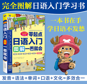 Image 4 - New Zero basic Japanese introduction book Pronunciation / grammar / word Japanese oral textbook for beginner
