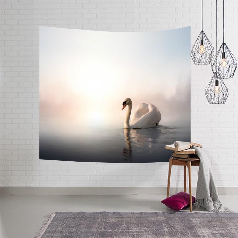 ①  Decration гобелен гобелен 23 добрый мир животных многофункциональный цветочный ковер коврик для йоги ★
