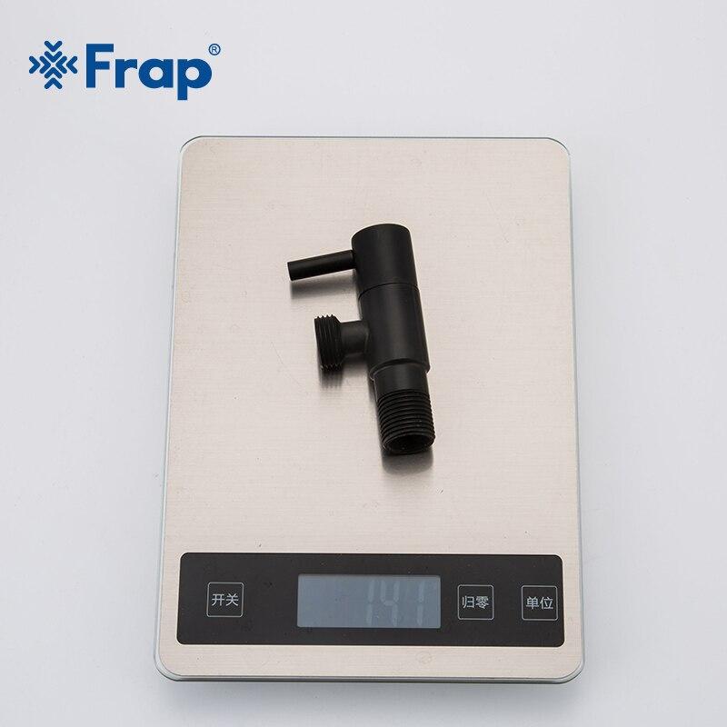 Image 5 - Frap Bidets black bathroom bidet toilet faucet bidet mixer  hygienic shower muslim shower single hole portable sprayer  Y50057Bidets