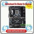 Nova marca para z270gt6 motherboard para biostar biostar motherboard de desktop para i3 i5 i7 para lga 1151 para ddr4