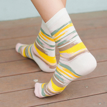 10 Pairs of Patterned Cotton Socks
