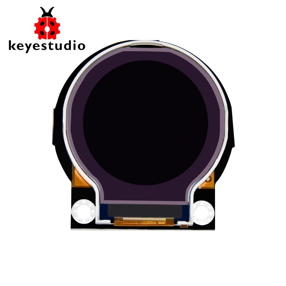 Keyestudio Round 2.2inch TFT LCD Display Module For Arduino Watch
