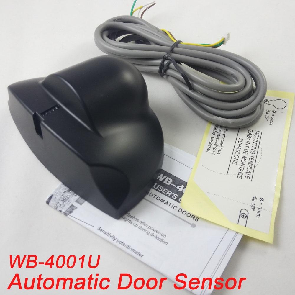 bilder für Freies verschiffen mit post mail paket/automatische tür mikrowelle automatische tür motion sensor/schwarz farbe