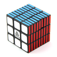 WitEden Unequal 3x3x9 I Magic Cube Professional Speed Puzzle 339 Rubike Cube Educational Toys for Children Intellectual