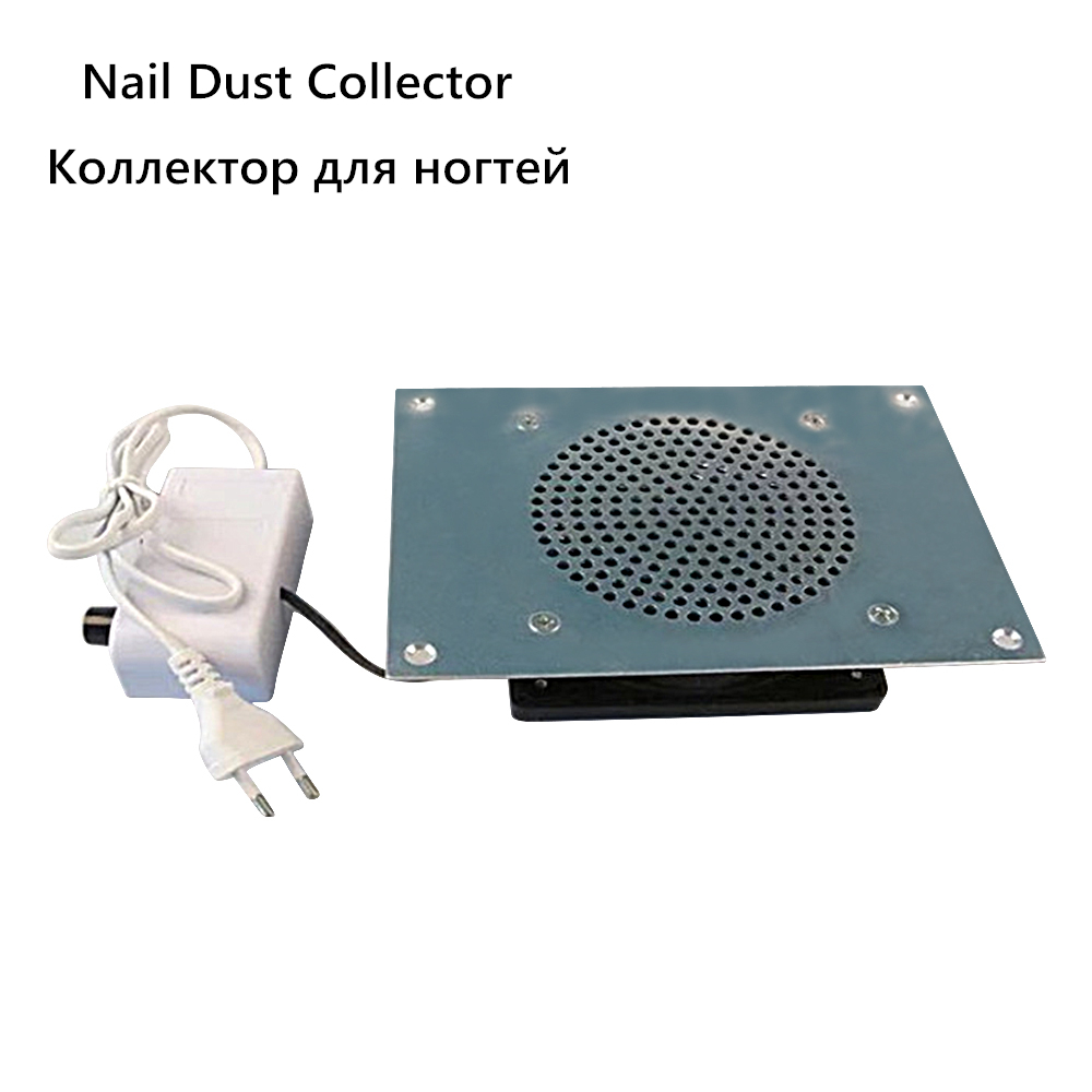 Desktop Nail Dust Collector Embedded Manicure Machine Vacuum Suction Cleaner Strong Suction Filter For Gel Polish Nails Art Tool