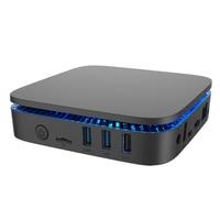 RUIJIE AK1 J3455 Win10 מיני מחשב Intel Celeron 4 גרם/32 גרם Bluetooth4.0 5.8 גרם תמיכת 10 טלוויזיה תיבת WIFI 4 K HDMI 2.0 Windows 2.5 ''HDD