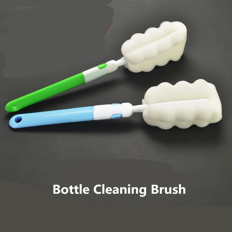 Household Bottle Cleaner Vacuum Cup Cleaning Foam Brush Kitchen Accessory