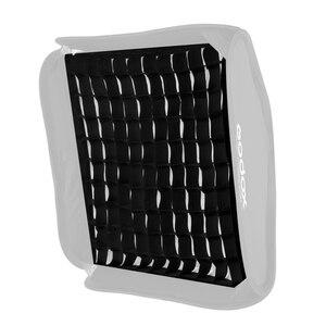 """Image 3 - Godox Grid Portable 60x60cm 24 """"x 24"""" Photo Softbox siatka o strukturze plastra miodu dla Studio Srobe latarka (tylko siatka)"""