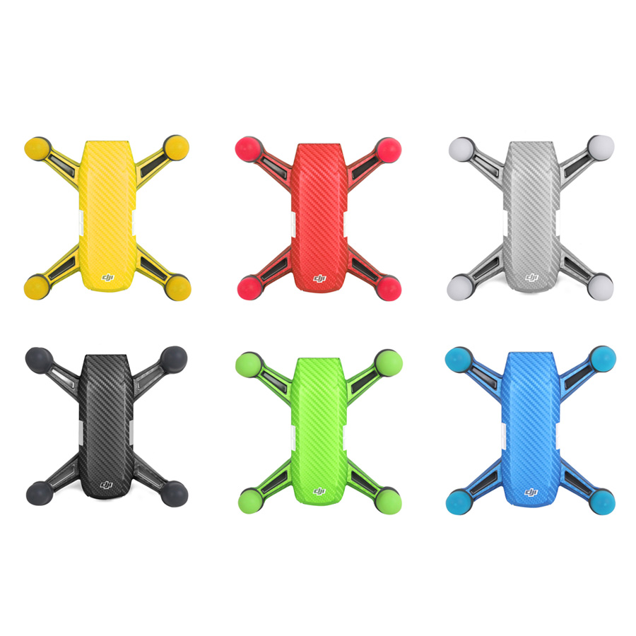 4 pcs / lot Spark Motor Cover Silicone Protective Case Moter Shockproof Cover for DJI Spark Drone Accessories