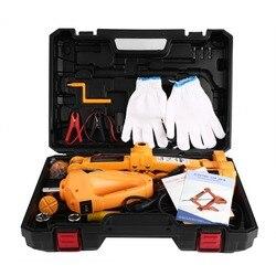3T 12V السيارات قابس كهربائي رفع سيارة SUV أدوات الطوارئ مع تأثير وجع قفازات محول مأخذ التوصيل مفك أدوات عدة
