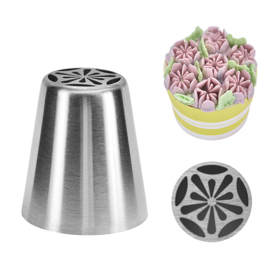 JEM 29 Set Small Stainless Steel Icing Nozzle Tip Tube for Cake Decorating