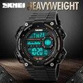 Qualidade superior Relógios Digitais Homens Esportes Relógio de Pulso LED 50 M À Prova D' Água Chronograph Relógios Relogio masculino Relojes Hombre 2016