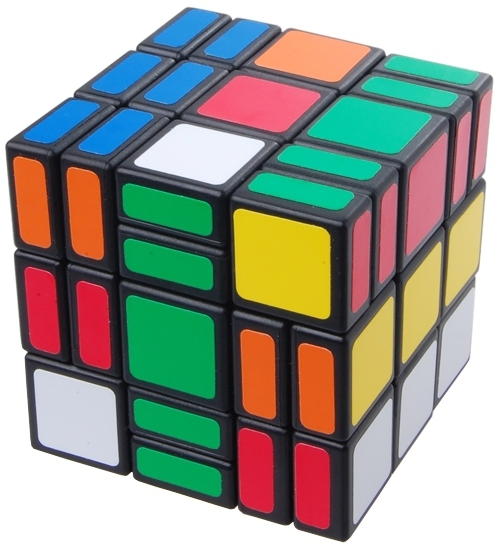 C4U 3x3x5 Cubo Mágico C4U Sellins Preto Quente