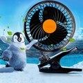 Hight E Baixo 360 Graus de Giro Do Carro Fãs Baixo Ruído Condicionador de Ar do carro Portátil Auto Ventilador de Refrigeração de Ar Para 12/24 V carros
