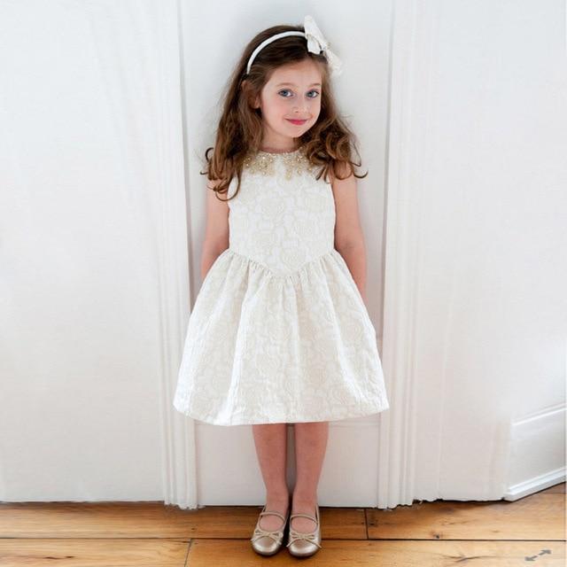 roupas infantis menina Sequin dress girl 2016 new summer vest kids princess  dresses costumes for girls clothes vestidos infantil 88071ad2a024