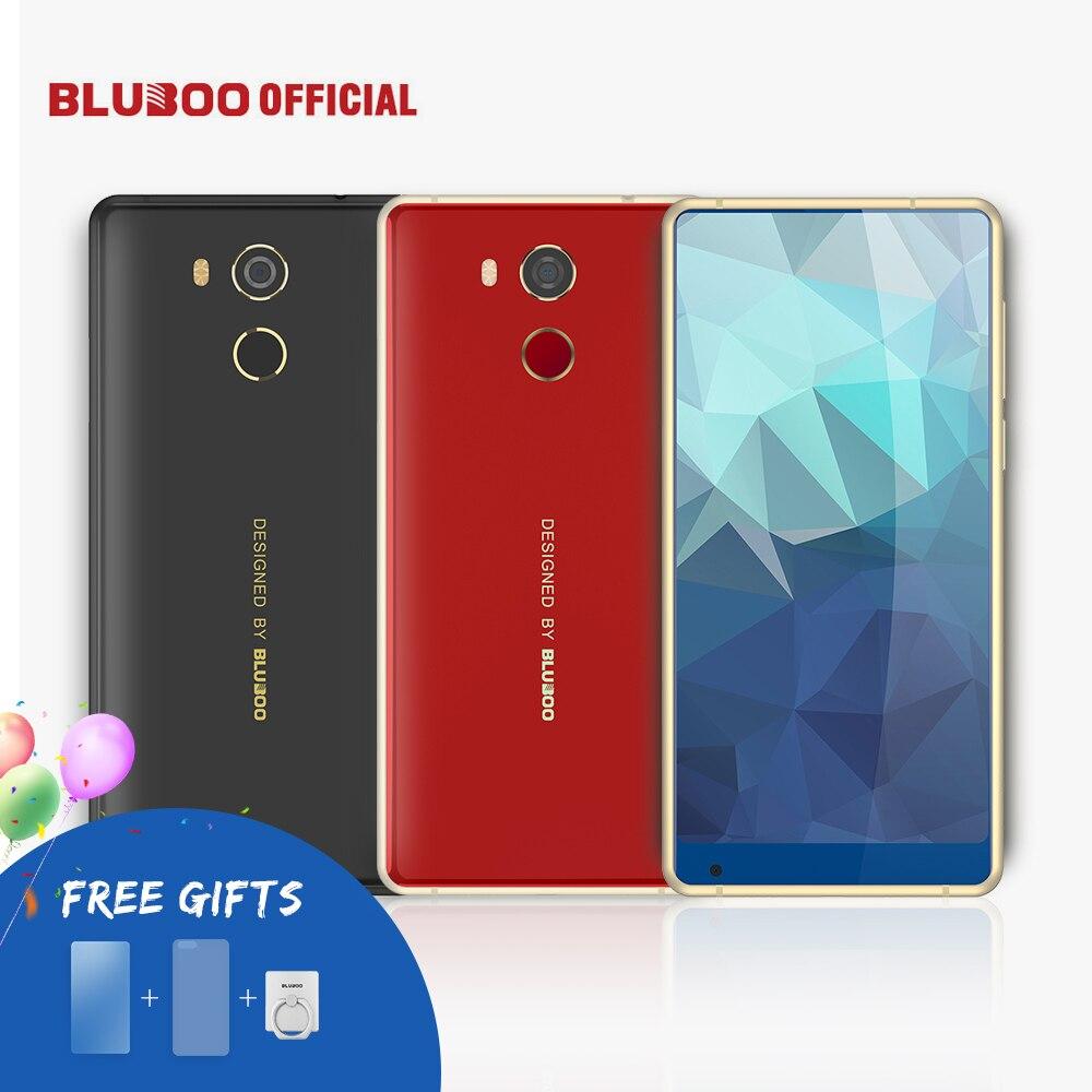 BLUBOO D5 Pro 5.5 ''18:9 HD Smartphone 3 GB di RAM 32 GB ROM MTK6737 Quad Core Android 7.0 Mobile Phone Dual Camera OTG di Impronte Digitali