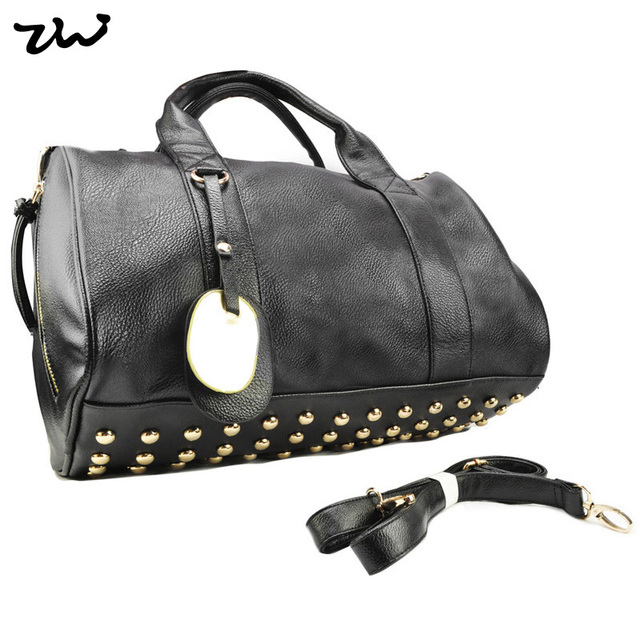 8Color Star Products! guaranteed 100% Rivets decoration handbags fashion 2016 new women bags handbag bag/QQ1348