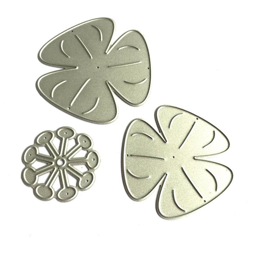 House LC New Flower Heart Metal Cutting Dies Stencils DIY Scrapbooking Album Paper Card Craft 18Apr27 Drop Ship