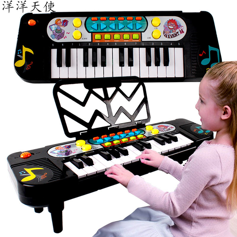 Baby Kids Simulation Electronic Piano Music Toys 25 Keys Beginner Learing Education Classical Musical Instrument For Child Girls