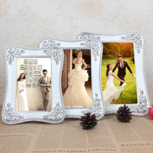 1 Piece European Silver Creative Photo Frame/ 6 Inch 7 8 10 Wedding Studio Picture Frame