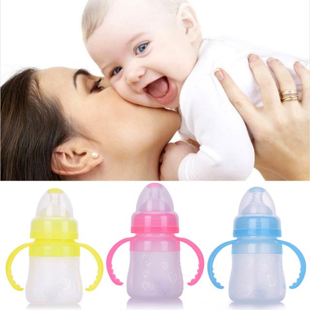 Cuidados Com o bebê Mais Novo Bocal de Alimentação Do Bebê Recém-nascido Crianças Garrafa De Suco de Palha/Garrafas de água