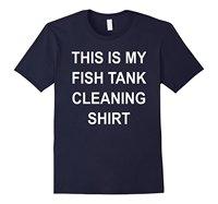 This Is My Fish Tank Cleaning Shirt Funny Aquarium T Shirt Fresh Design Summer Good Quality