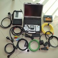 2in1 diagnostic tool mb star c5 for bmw icom a2 with latest software ssd 1tb soild hard disk laptop cf 30 ready to work