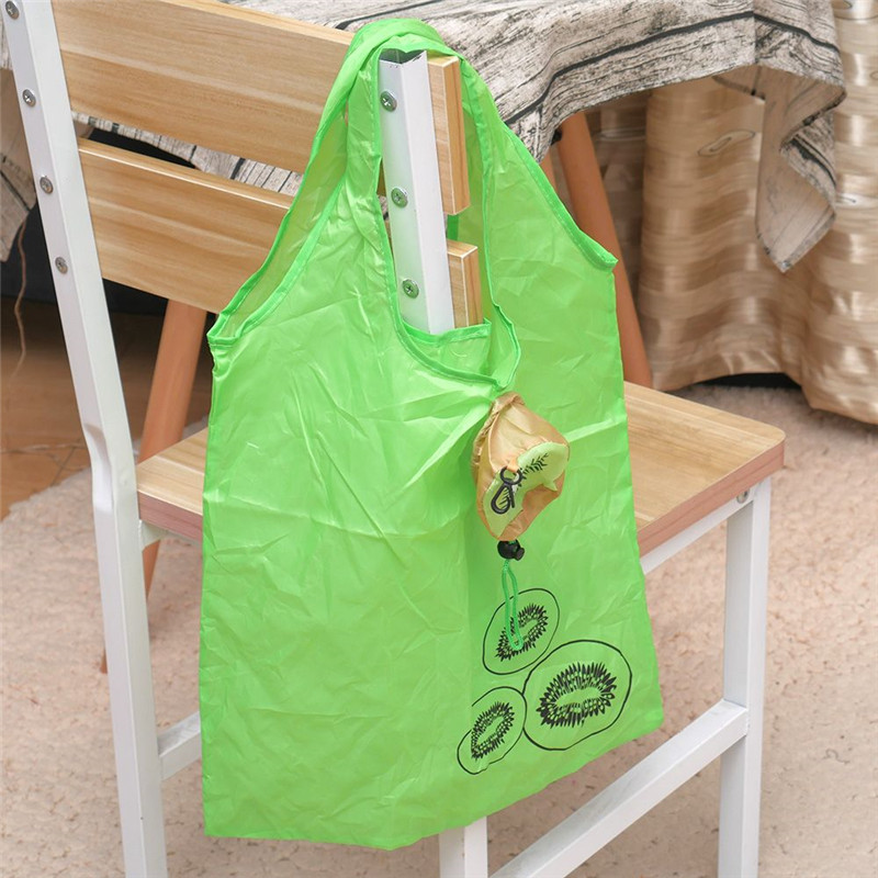 New Fruit Folding Shopping Bag Eco Friendly Ladies Gift Foldable Reusable Tote