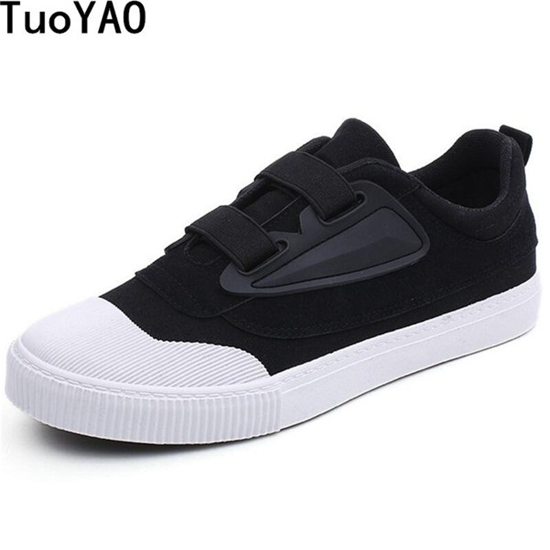 Popular Style Men Canvas Rubber Soled Shoes Spring and Autumn Slip On Light Breathable Casual Fashion Vulcanized Shoes