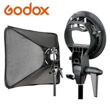 Godox PRO Godox S סוג Bowens הר מחזיק עבור Speedlite פלאש הסנוט Softbox Godox AD 360