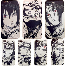 60c3daaf262 Sketch Naruto mens case cool for Apple iphone 7 8 X XSMAX XR silicone back  cover cartoon Kakashi 6 6s 7 8 plus soft shell Sasuke