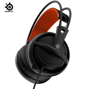 Image 2 - SteelSeries Siberia 200v2 IG upgrade  Headset E sports Game Computer Headphone PUBG Exclusive Gaming Headphone