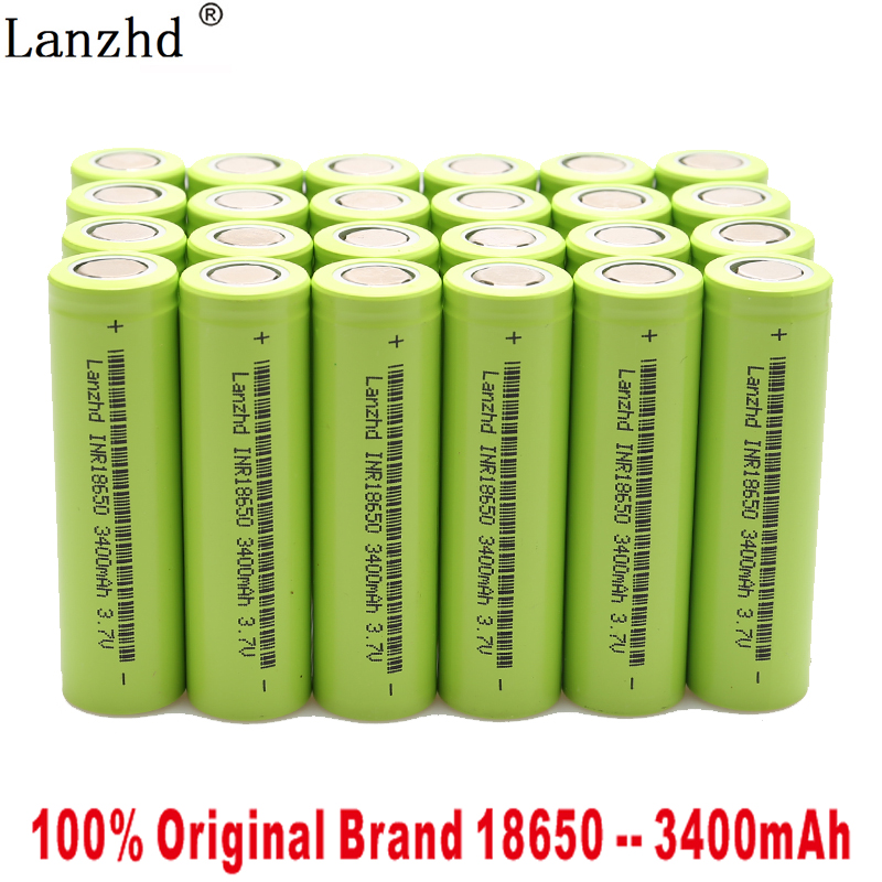 8-40PCS 100% <font><b>original</b></font> New 18650 for <font><b>Samsung</b></font> 18650 batteries 3.7V 3400mAh INR18650 <font><b>30Q</b></font> li-ion Rechargeable Batteries 30A image