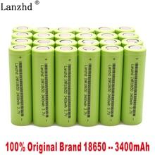 8-40PCS 100% original New 18650 for Samsung batteries 3.7V 3400mAh INR18650 30Q li-ion Rechargeable Batteries 30A