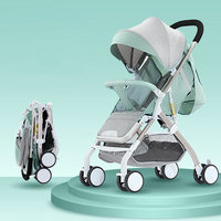 Newborn baby strollers Can sit and lie down Baby stroller baby stroller Lightweight folding Baby strollers brands