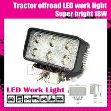 Super bright 18W tractor offroad LED work light,working lamp,Fog light kit