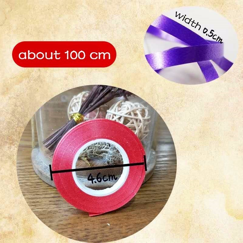 4pc 10M Balloon Ribbon Tie Rope Gift Box Ribbon Birthday Party Decoration Kids Length 10M Wide And 0.5 Cm Balloon Accessories