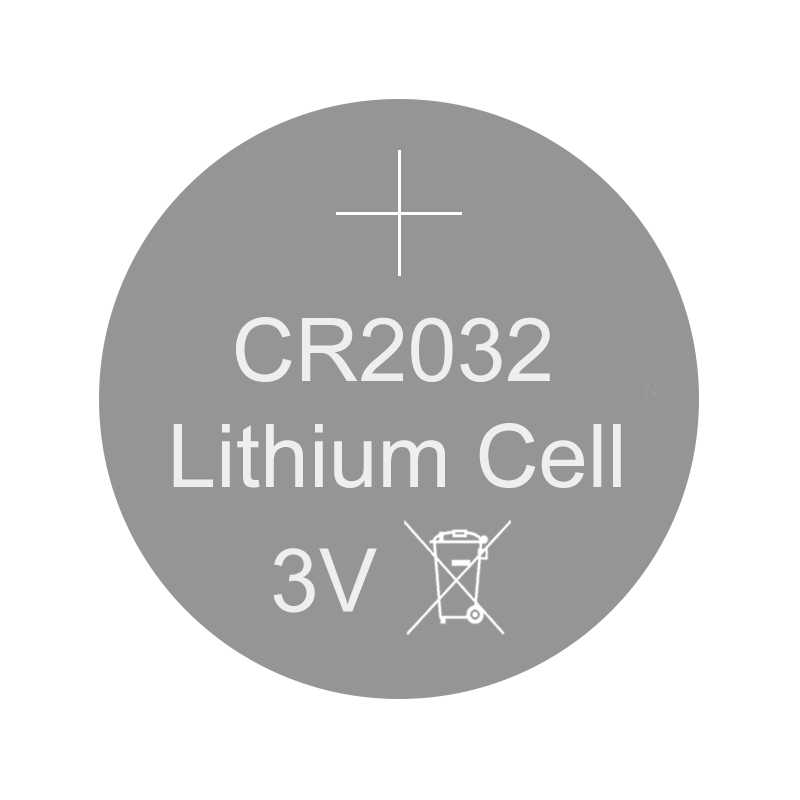 Lithium button cell battery CR2032 - 3V Coin 2032