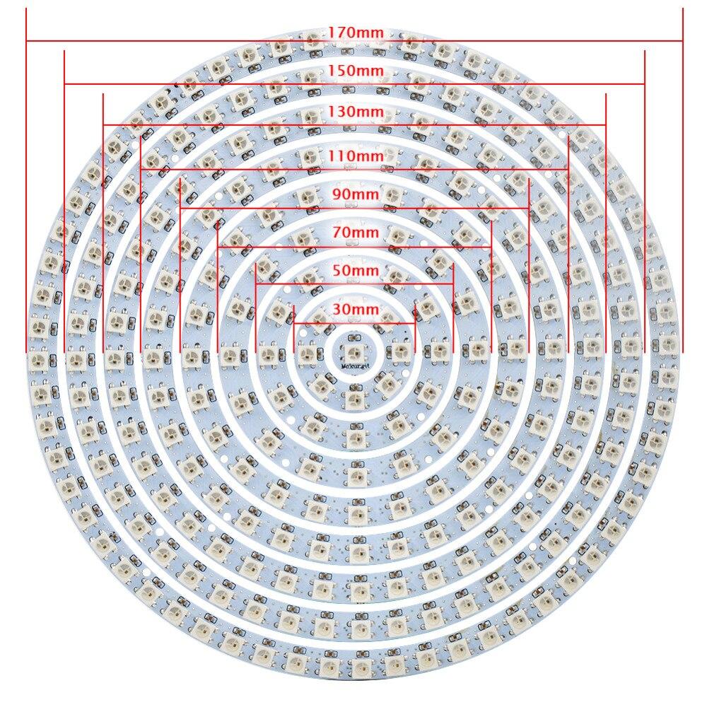 Tiras de Led para arduino Modelo do Chip Led : Smd5050