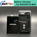 100% New DOOGEE X5 MAX Battery + Desktop Dock Wall Charger 4000mAh Lithium-ion Battery for DOOGEE X5 MAX Smartphone +in stock