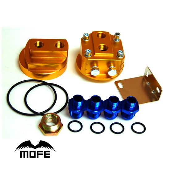 SPECIAL OFFER 9 or 10 Rows Engine Transmission Oil Cooler + 3 Oil Steel-braided Lines + Double Oil Sandwich Adapter kyser kds800 lem oil page 9
