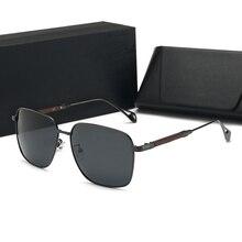Для Maybach солнцезащитные очки 2019 очки для вождения мужские Поляризованные женские зеркальные солнцезащитные очки футляр