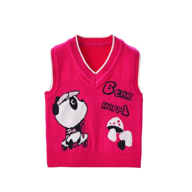 Häkelmuster Baby Pullover Für Mädchen Cartoon Stricken Säugling ...