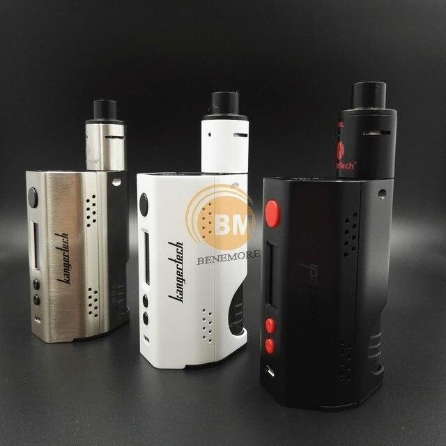 Оригинал kangertech dripbox 160 Вт жидкостью vape комплект 7 мл rda dripper танк против wismec rx200s skyhook smok электронной сигареты